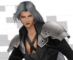 Sephiroth - Just a Project 2 [Final Fantasy VII] by Shin-Orojin