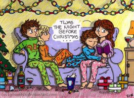 T'was the night before Christmas... by BeckyBumble