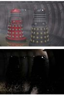 Sewer Daleks by android65mar