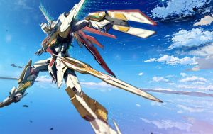TSX-08A A-STAR Gundam-2 by csy5150