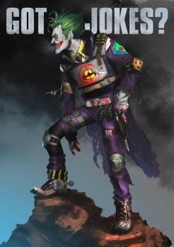 Got Jokes? - Joker Redesign by orochi-spawn