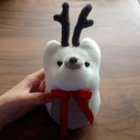 Reindeer sock plush by xmy-craftsx