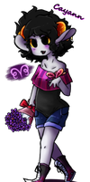 Art Trade: Cayann by GeekyKitten64