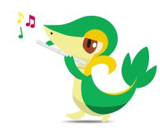 Snivy by Whiplax