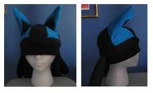 lucario hat by Mad-March