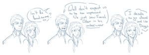 Katniss and Boggs 16112 by SkyDominic