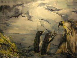 King Penguin's crowning by Laineilla