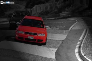B5 Audi RS4 in the Karussell by Pistonspy