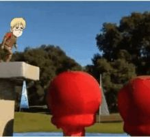 Hetalia - Wipeout: gif - Sweden by SydneyA
