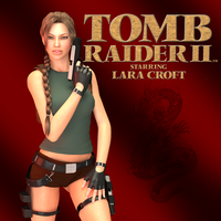TombRaider II Cover by JavierMicheal