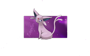 Espeon by kawaiipikachu12