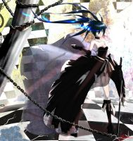 BLACK ROCK SHOOTER - The flower of war. by DeathKLovC