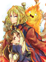 Howl's Moving Castle by Pasuteru-Usagi