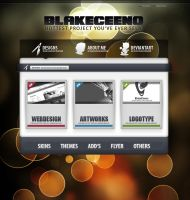 Colorful Website by BlakeCeeno