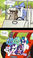 Regular Show vs My Little Pony by RB-Gameaddict