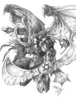 Illidan_ The Storm Fury by DOUGLASDRACO
