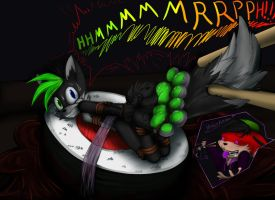 Sushi Shadz green pads. by Fluffy-Mage