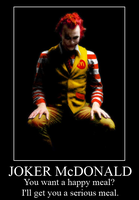Joker McDonald by RobinGMS