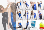 Catfight in catsuits - Set 78 pictures - US 4.00 by MartaModel