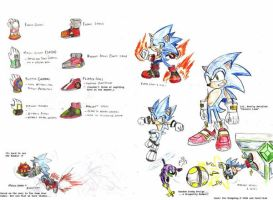 Equipment for Sonic by ProjectHazoid