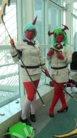 Scanty and Kneesocks from Panty and Stocking by trivto