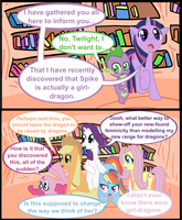 Suddenly Spike... by RunbowDash