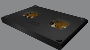 Laptop Cooling Pad Concept by shadex00x