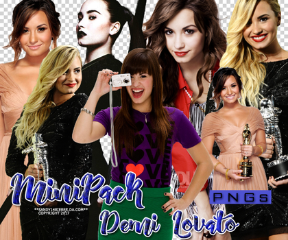 +MiniPack PNG: Demi Lovato. by EDFTeam