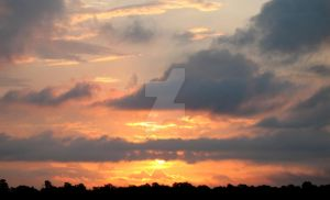 Sunset in Aug. 2009, 2 by SoccerBoyDan