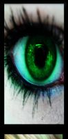 The Green Eyed Monster by coma-wh1te