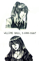 [DGM] Welcome back, D-Gray-man by GazeRei