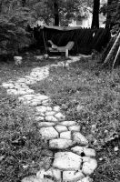 Our Path in Oct by coffeenoir