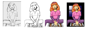 Stages of Daphne Commission by Bbedlam
