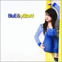 Blue and Yellow by LacerationLove