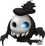 Shunbuo the Duskull by TheLonelyQueen
