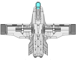 F-67 first generation Multi Environment Fighter by wbyrd