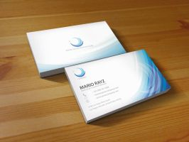 Blue lagoon business card v3 by Lemongraphic