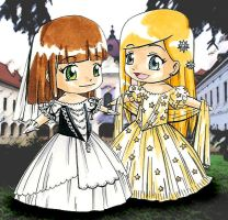 Wittelsbach princesses by Royal-Anime-Club