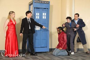 Doctor Who Photoshoot: The Master's victory by StrangeStuffStudios