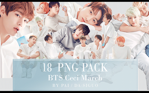 BTS Ceci March PNG PACK #18 by Pai by Siguo