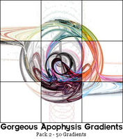 Gradient Pack 2 - New Cuts by gorgeous-apophysis
