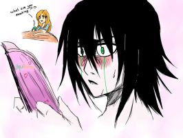 Naughty Ulquiorra by Alex829