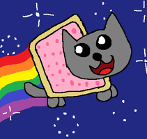 Nyan Cat by animaniac43