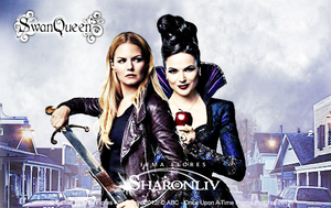 Once Upon A Time S2 - Swan Queen is Coming by Sharonliv-Arzets