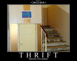 THRIFT Demotivational by JellyN8TR