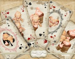 Playing-Card-Kewpies-Cupcakes-1 by mimikascraftroom