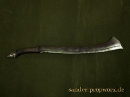 Gundabad Orc Sword by BloodworxSander