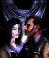 Whispers, Shadows, Sighs (Negan\Self-Insert) COMM. by Almesiva-Moonshadow