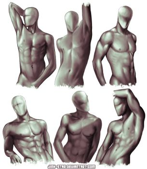 + MALE BODY STUDY: SEXUAL OFFENDERMEN + by jinx-star