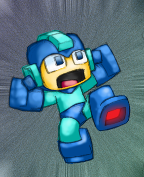 Fighting robot by Hologramzx
